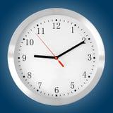klasyka błękitny zegar Fotografia Stock