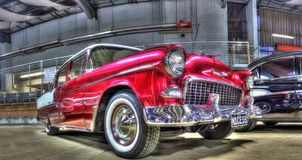 Klasyka Chevy 1955 bel Aire Obraz Stock