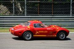 "Klasyka Effeffe ""Berlinetta†stylowy samochodowy  Fotografia Royalty Free"