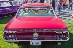 Klasyka Ford mustanga 1967 samochód Fotografia Royalty Free