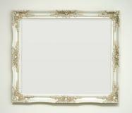 klasyka ramowy obrazka biel Fotografia Stock
