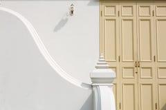Klasyka styl retro schody i drzwi Obraz Stock