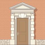 klasyka wejścia styl royalty ilustracja