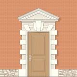 klasyka wejścia styl ilustracja wektor
