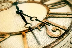 Klasyka zegar obraz stock