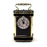 Klasyka zegar odizolowywający fotografia royalty free