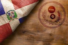 Klasyka znaczek robić w republice dominikańskiej Obrazy Stock