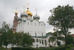 klasztor 6 novodevichy Obrazy Royalty Free