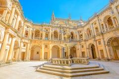 Klasztor Chrystus podwórze obraz royalty free