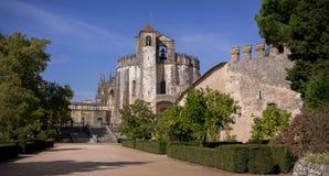 Klasztor Chrystus rycerzy templariusza kasztel w Tomar Portugalia zdjęcia royalty free