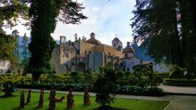 Klasztor ` Desierto De Los Leones ` w Meksyk Obrazy Stock