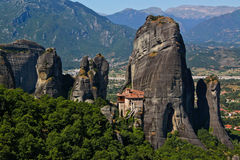 klasztor grecki Obraz Royalty Free