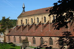 klasztor maulbronn fotografia royalty free