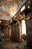 klasztor melk biblioteczna. Obrazy Stock