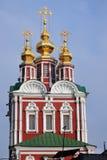 klasztor Moscow novodevichy Zdjęcie Royalty Free