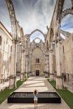 Klasztor Nasz dama góry Carmel portugalczyk: Convento da Ordem robi Carmo fotografia stock