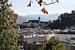 Klasztor nonntal Fotografia Stock