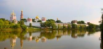 klasztor novodevichy Zdjęcia Stock