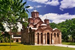 klasztor ortodoksyjny Fotografia Royalty Free