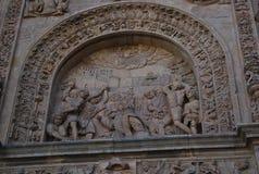 Klasztor San Esteban wyszczególnia górną część zdjęcie royalty free
