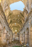 Klasztor San Francescu blisko Castifao w Corsica fotografia stock