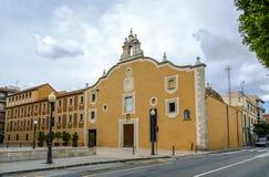 Klasztor Sant Francesc w Benicarlo Castellon, Hiszpania, Obraz Royalty Free