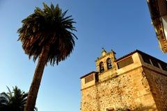 Klasztor Santa Clara, Monumentalny miasto Caceres, Extremadura, Hiszpania fotografia royalty free