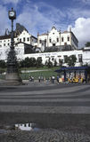 Klasztor Santo Antonio w Largo Carioca i kościół, Rio de Zdjęcia Stock