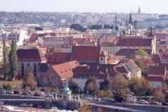 Klasztor St. Agnes w Praga Dziejowym Centre Zdjęcia Stock
