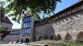 Klasztorne ściany Obrazy Royalty Free
