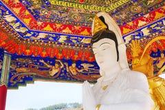 klasztoru buddhas 10 tysięcy obraz stock