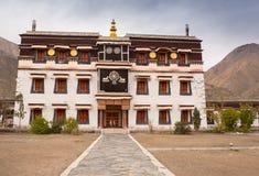 klasztoru buddyjskiego tybetańskiej zdjęcia stock