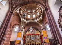 Klasztoru Niepokalanego poczęcia magdalenki San Miguel De Allende Meksyk Obraz Royalty Free