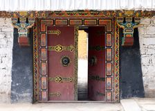 klasztoru tybetańskiej Zdjęcia Stock
