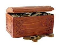 klatek piersiowych monety Zdjęcie Royalty Free