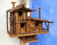 klatka drewniana Obrazy Stock