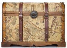 klatka piersiowa antykwarski bagażnik Zdjęcia Royalty Free
