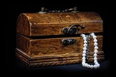 klatka piersiowa czarny skarby Zdjęcia Royalty Free