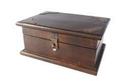 klatka piersiowa drewniana Zdjęcie Stock