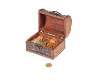 Klatka piersiowa pieniądze Obraz Stock