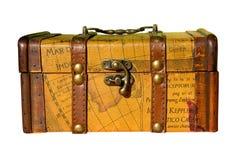 klatki piersiowej drewniany stary obrazy stock