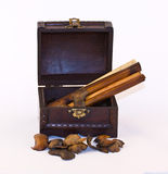 klatki piersiowej drewno Fotografia Royalty Free
