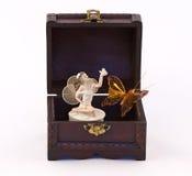 klatki piersiowej motylia czarodziejka Obrazy Royalty Free