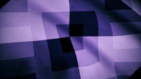 Klatkowy tkaniny backgrond jako tło tkanina Terry płótno w białej błękitnej klatce royalty ilustracja