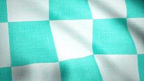 Klatkowy tkaniny backgrond jako tło tkanina Terry płótno w białej błękitnej klatce ilustracji