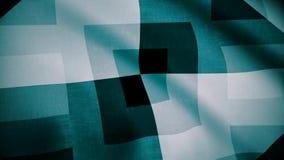 Klatkowy tkaniny backgrond jako tło tkanina Terry płótno w białej błękitnej klatce ilustracja wektor