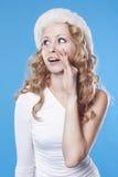 Klatsch der jungen Frau Lizenzfreies Stockfoto