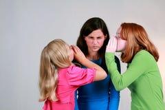 Klatsch-Mädchen Lizenzfreie Stockbilder