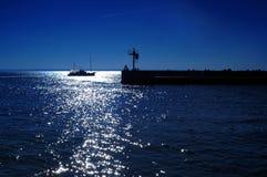 Klatschen Sie im Hafen Lizenzfreies Stockbild