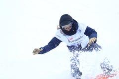 Klaudia Medlova - slopestyle Lizenzfreie Stockbilder